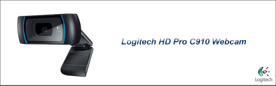 Logitech 1080p webcam pro c910 with skype hd